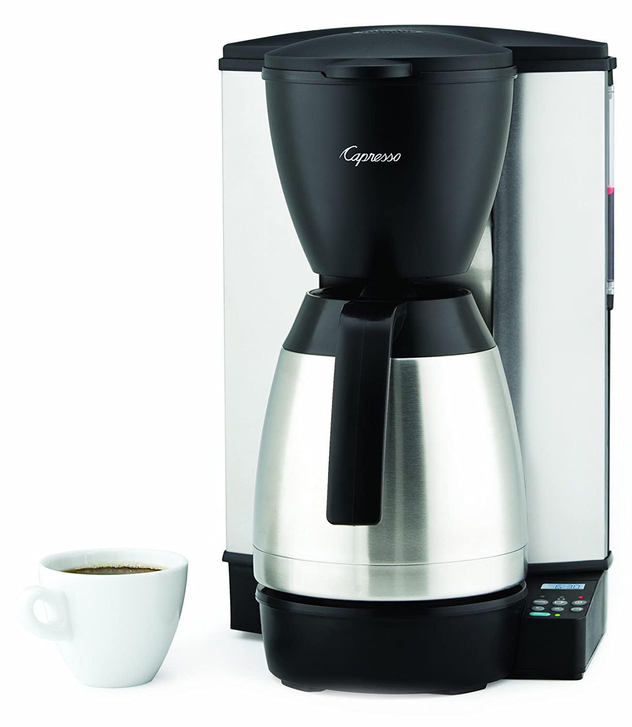 Amazon.com: capresso MT600 10-cup Cafetera programable con ...