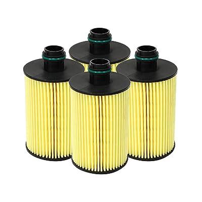 aFe Power 44-LF035M 4 Pack RAM 1500 EcoDiesel Oil Filter: Automotive