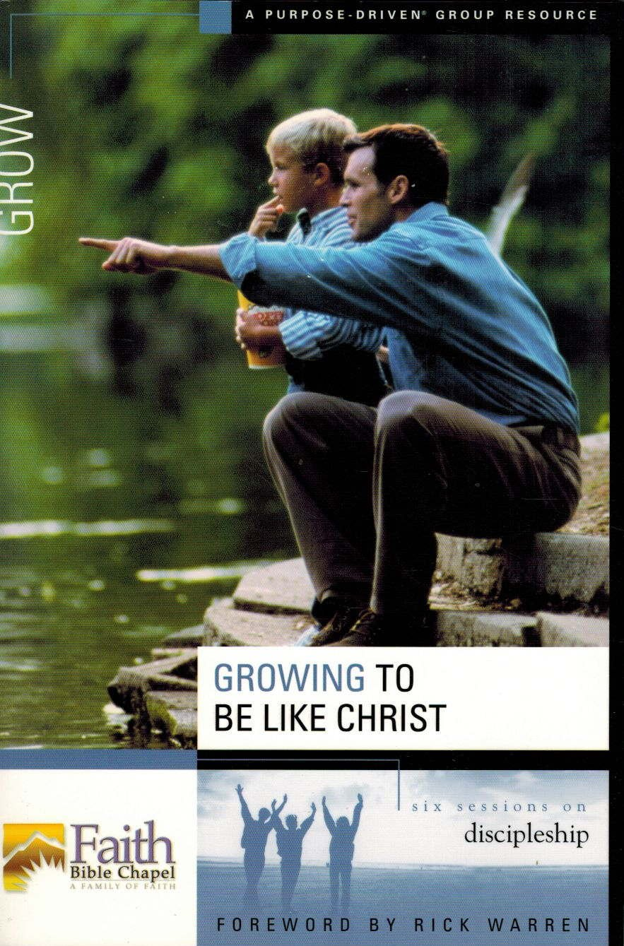 Download Doing Life Together/growing to be Like Christ - Faith Bible Chapel pdf