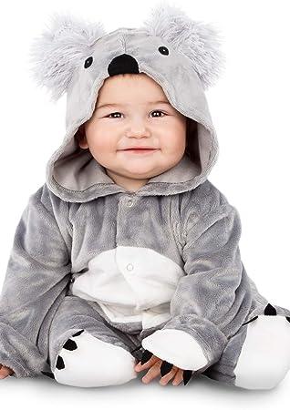 MY OTHER ME FUN COMPANY, SL Disfraz de Koala Gris para bebé ...