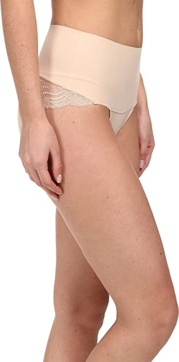 Spanx Set Of 2 Womens Cheeky High-Waist Hipster Panties Size M 4607