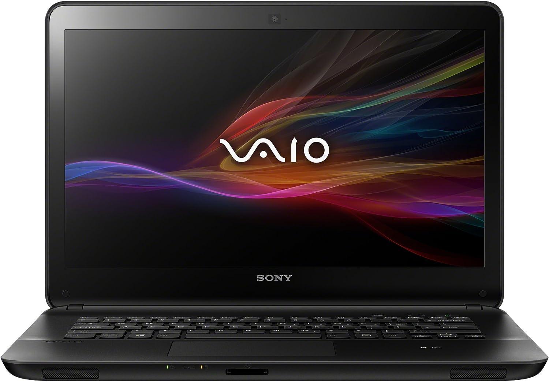 Sony VAIO Fit Series SVF1421ACXB Laptop (Windows 8, Intel Pentium 2117U Processor, 14 inches Display, SSD: 500 GB, RAM: 4 GB DDR3) Black