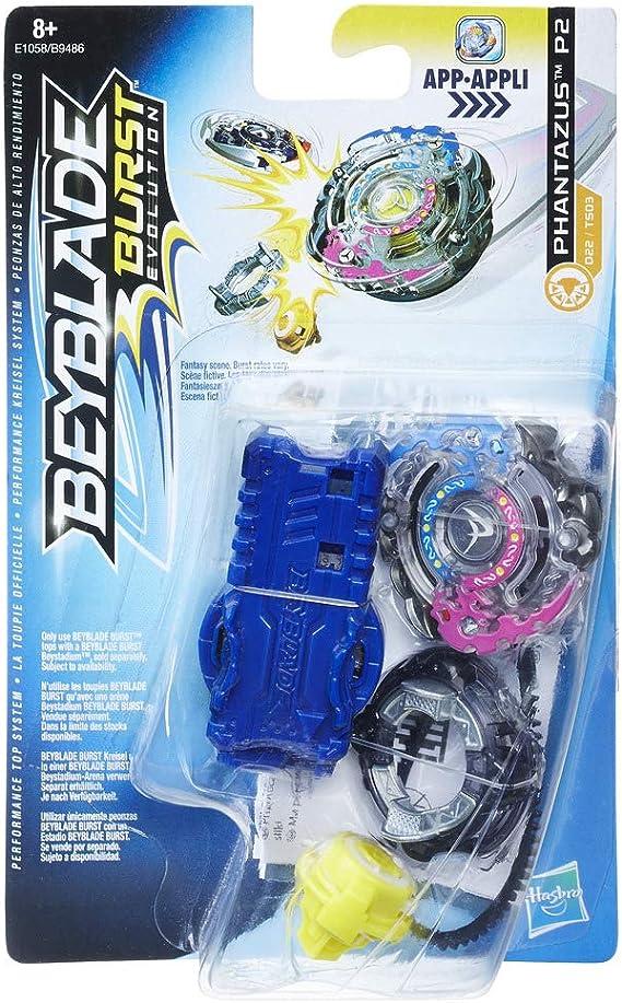 Bey Blade- Ponza y Lanzador Phantazus P2 (Hasbro E1058ES0): Amazon ...