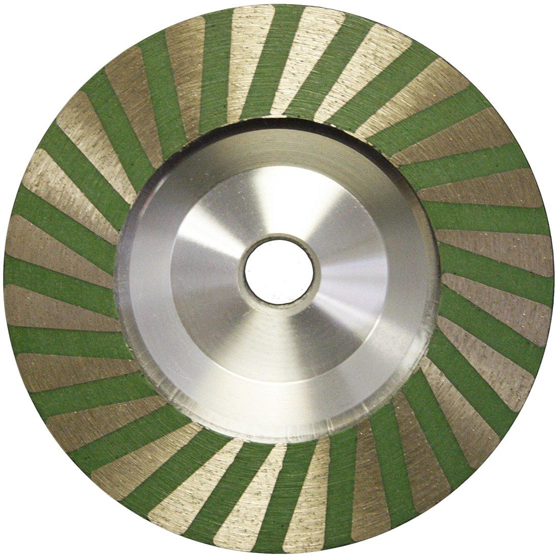 4'' Slayer Resin filled Turbo Cup Wheel Alum Backer - Fine by Slayer