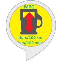 Fuel converter mpg to l/100km and l/100mil.