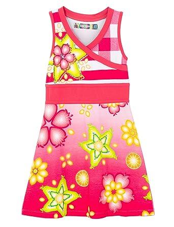Desigual Vest_TUNEZ, Vestido para Niños, Rojo (Azalea 3135), 4 años (