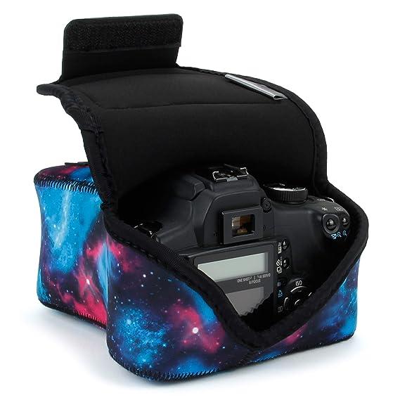 USA GEAR SLR Funda para Cámara (Galaxia) con Protección de ...