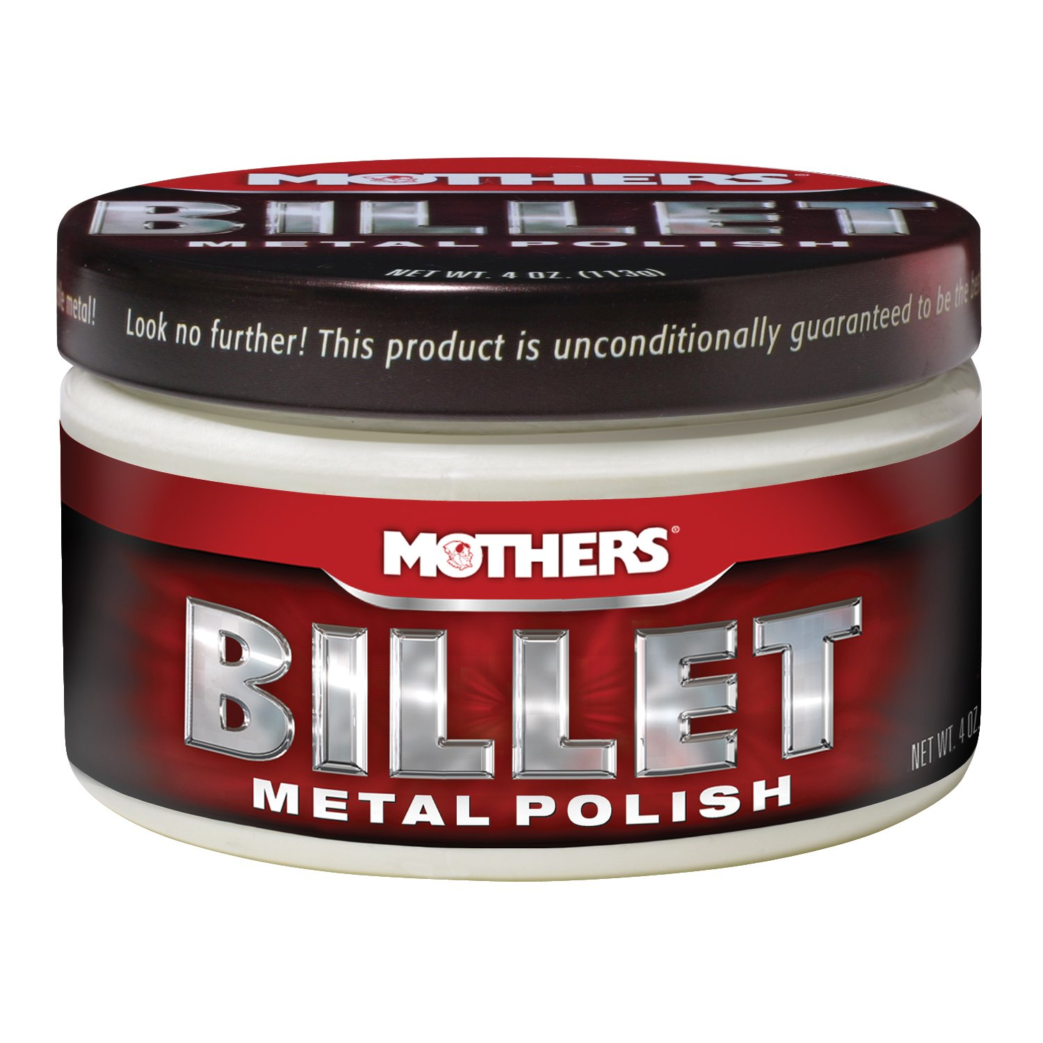 Mothers 5106 35106 Billet Metal Polish, 4-Ounce 05106