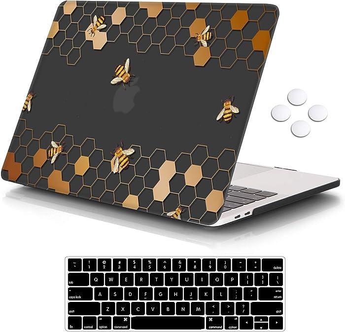 Top 10 Peach Glitter Macbook Pro Laptop Case