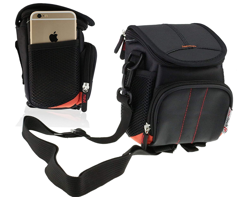 Navitech Black Digital Camera Case Bag Cover For TheKodak PIXPRO AZ421