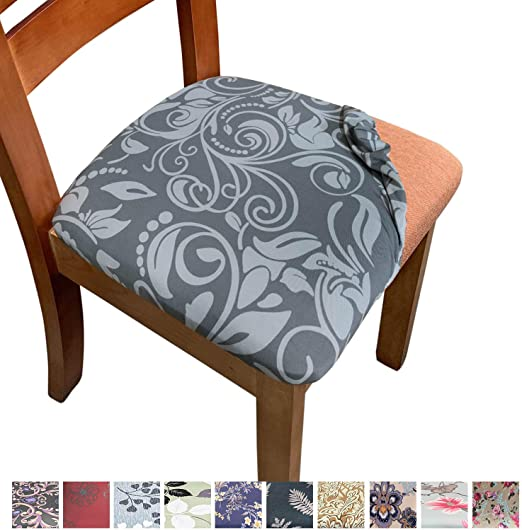 US 1//2pc Round Removable Elastic Stretch Slipcovers Home Dining Chair Seat Cover