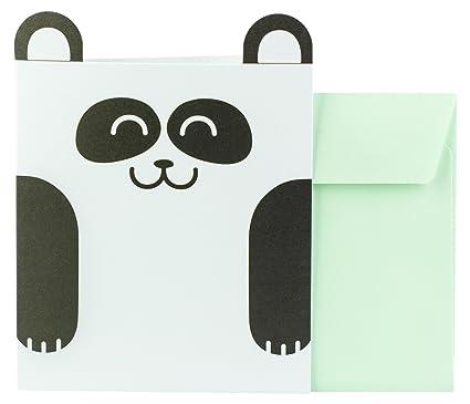 Mr. Wonderful WOA00940 - Tarjeta oso panda