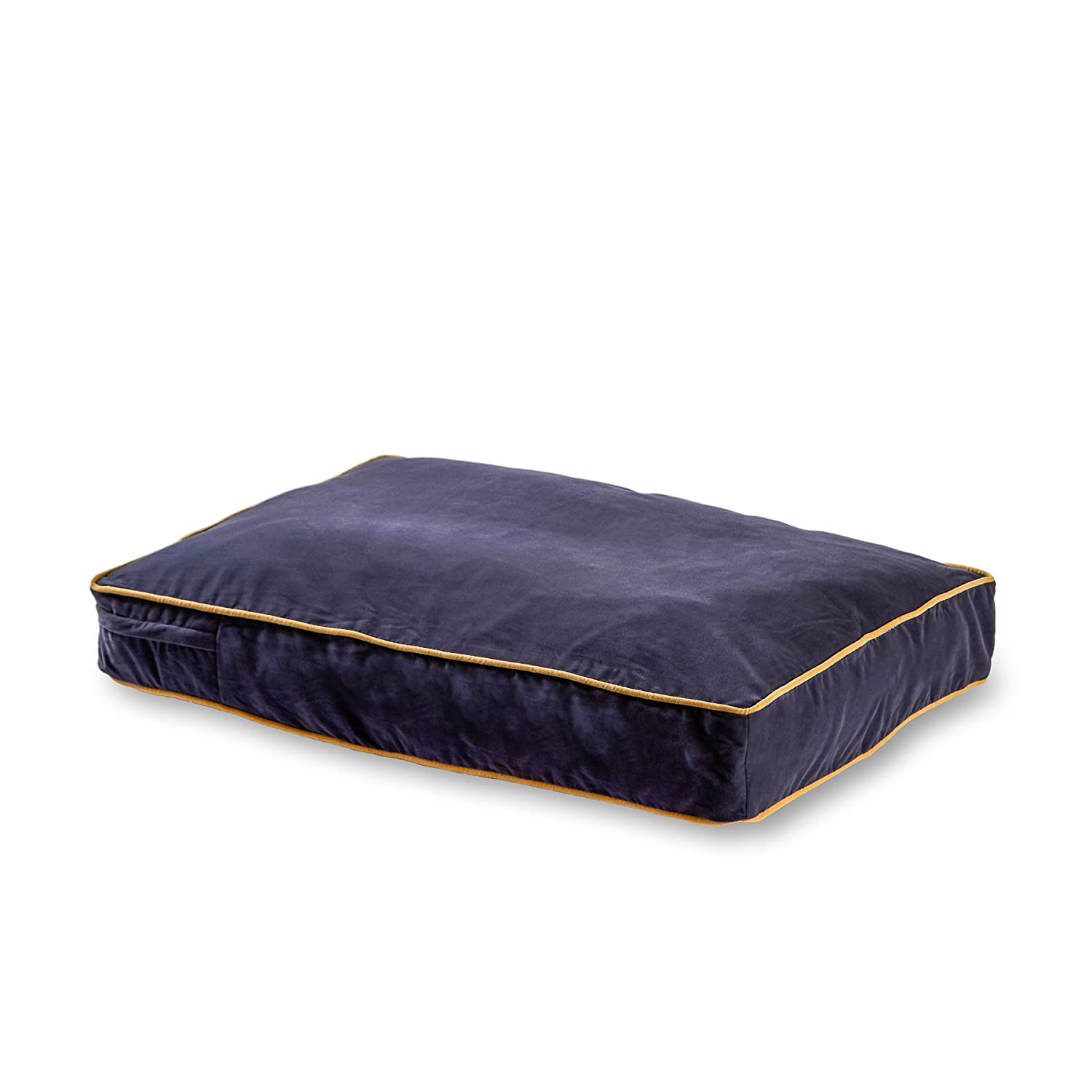 Happy Hounds Buster Dog Bed, 18 by 24-Inch Extra Small, Denim bluee