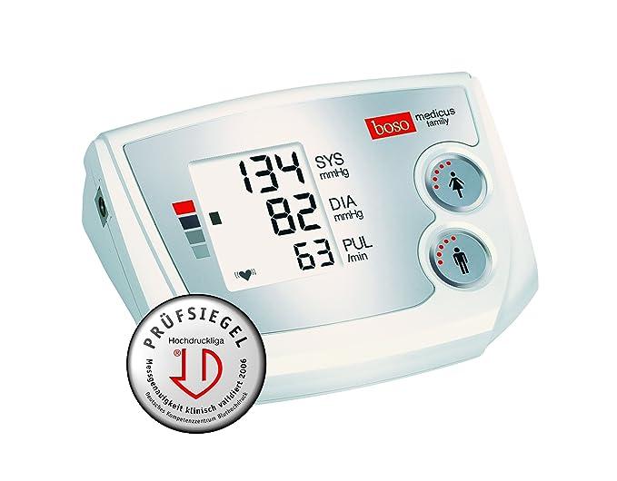 Boso Medicus Family - Tensiómetro de brazo con manguito universal (completamente automático): Amazon.es: Salud y cuidado personal