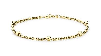 a3542af745d2 Carissima Gold Pulsera de mujer con oro amarillo de 9 quilates (375 1000)