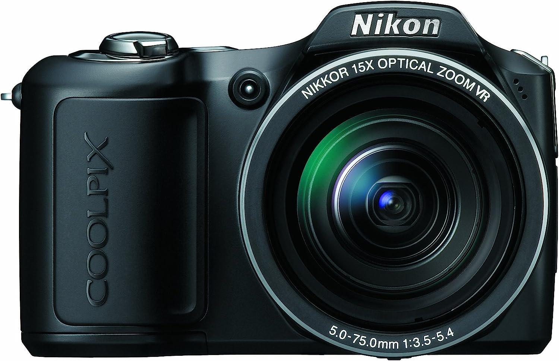 Amazon Com Nikon Coolpix L100 10 Mp Digital Camera With 15x Optical Vibration Reduction Vr Zoom Point And Shoot Digital Cameras Camera Photo