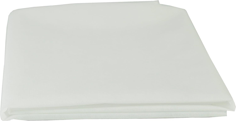 AMF Life Inlett-Stoff Meterware weiß Oeko-Tex®100 1,1m x 5m Nähvlies