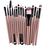 Amazon Price History for:Start 15 pcs/Sets Makeup Brush Set for Eye Shadow Foundation Eyebrow Lip (Gold)