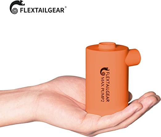 FLEXTAILGEAR MAX Pump 2 Portable Air Pump with 3600mAh Battery USB Rechargeable