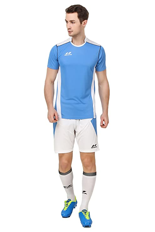 Buy Nivia Polyester Radar Football Jersey Set Online at Low Prices in India  - Amazon.in a2ce892e6
