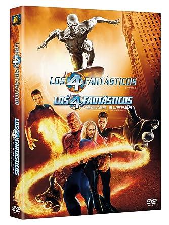 Amazon.com: Los 4 Fantásticos + Los 4 Fantásticos y Silver ...