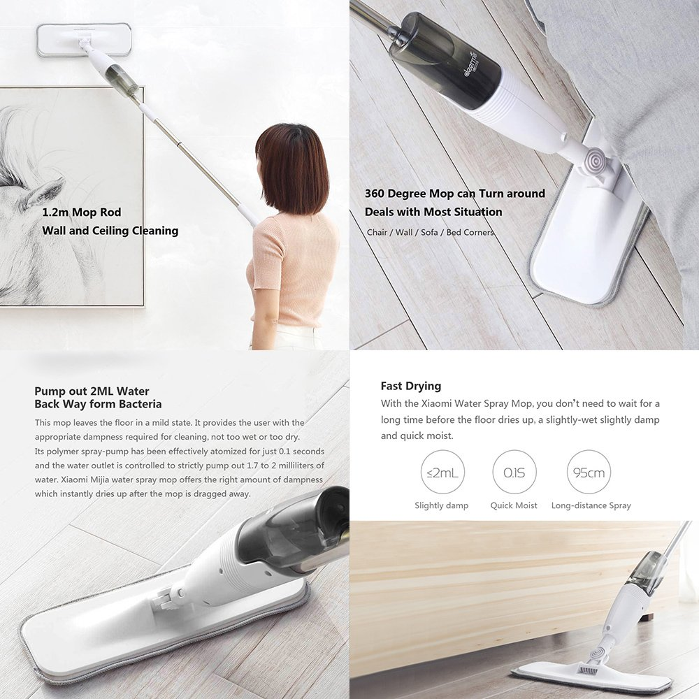 Xiaomi Mijia Deerma Sweeper Water Spray Mop