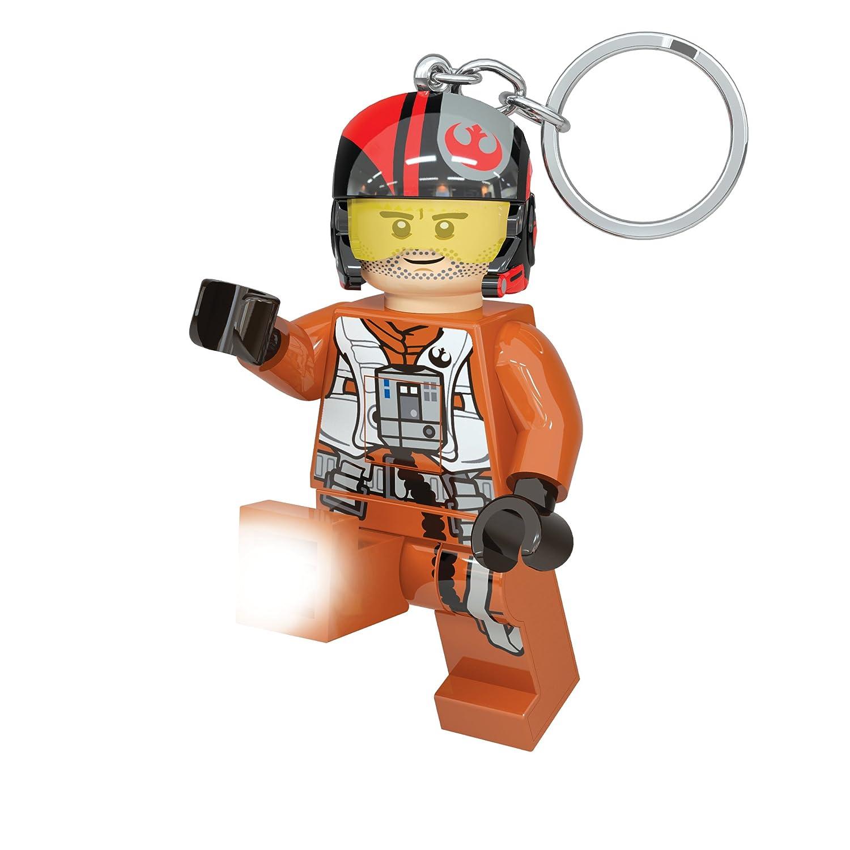 LEGO 31255 – Star Wars PoE Dameron minitasc henlampe y Llavero con ledes, 7.6 cm
