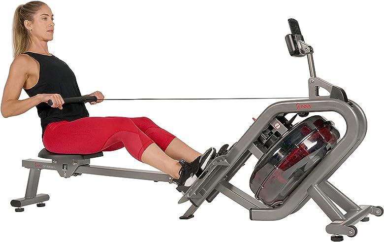 Meilleur rameur hydraulique pliable: Phantom SF-RW5910 de Sunny Health & Fitness