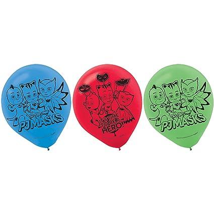 """Amscan PJ Masks 12"""" Latex Balloons ..."""
