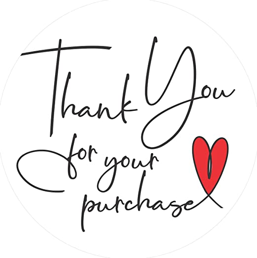 240 White Round 3cm1.18 Business Thank You For Your Order Sticker Etsy Seller 5 Star Review Labels Hand Made Product Business Logo Labels