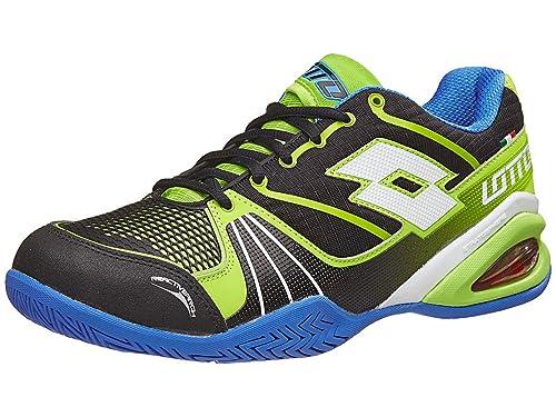 Lotto Stratosphere Speed, Zapatillas de Tenis Hombre, Negro / Blanco (Blk / Wht), 49 EU: Amazon.es: Zapatos y complementos