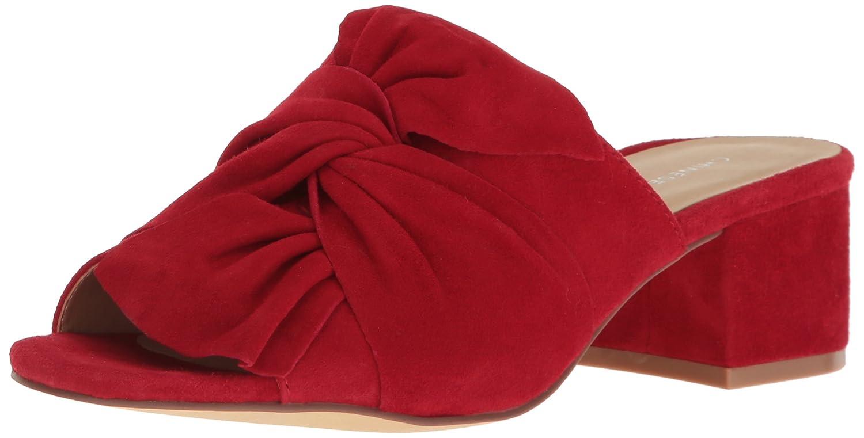 Chinese Laundry Women's Marlowe Mule Sandal B01N2YI6OP 8.5 B(M) US|Rebel Red Suede