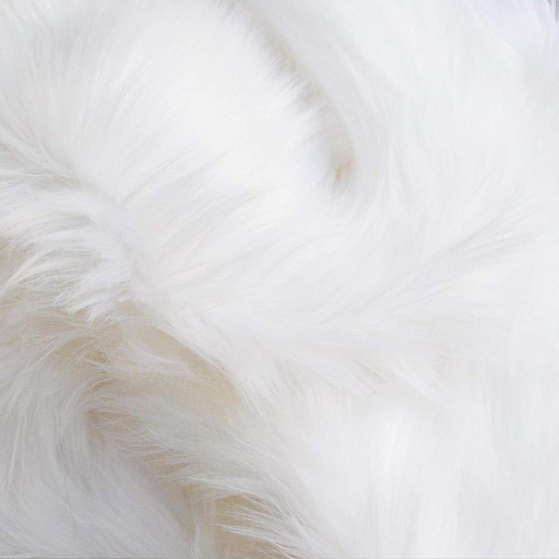 Aeternum - Shaggy Faux Fur Fabric - Half Yard - 18