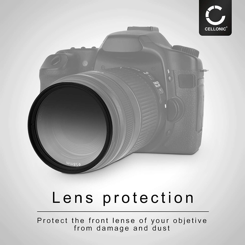 CELLONIC/® Filtre Gradient ND Compatible avec Fuji Fujinon XF 16-55mm F2.8 R LM WR /Ø 77mm