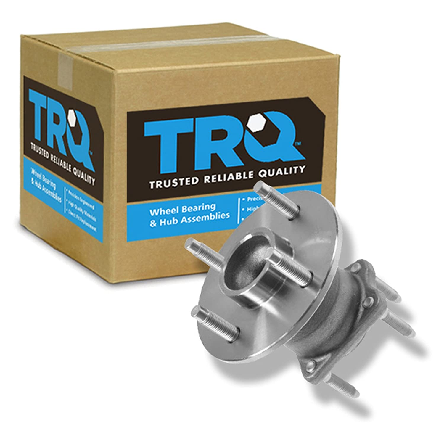 TRQ Rear Wheel Hub /& Bearing Left or Right for Cobalt G5 Ion Pursuit w//o ABS
