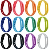 HONECUMI XiaoMI Band Colorful Replacement Wristbands for XiaoMi(No Tracker)