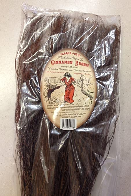 Trader Joe's Cinnamon Broom - Decorative, Aromatic, and Romantic By Nature!