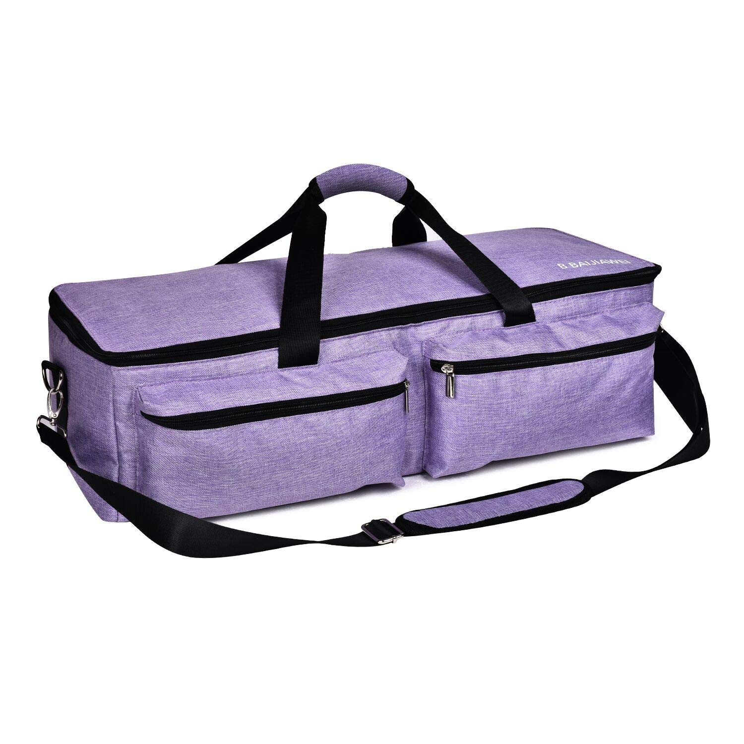 B BAIJIAWEI Carrying Bags for Cricut Explore - Cricut Accessories Storage Bag, Travel Bag for Cricut Explore Air, Cricut Explore Air 2, Cricut Maker (Purple)