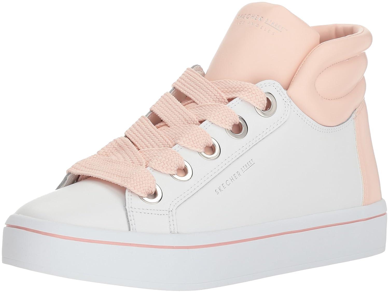 Skechers Women's Hi-Lite-Pop Color Sneaker B074CMMHB6 6 B(M) US White/Pink