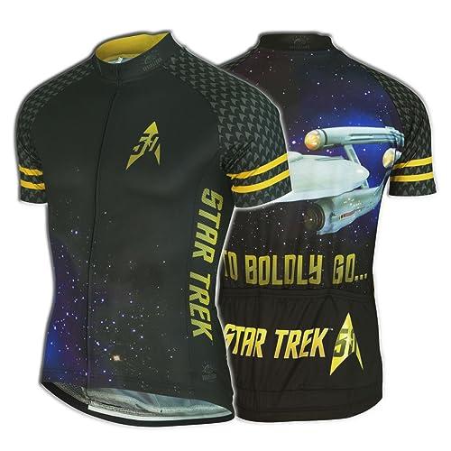 924996eec Beam up a Star Trek cycling jersey - Novelty Cycling Gear