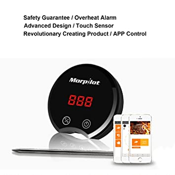 [actualizado] Morpilot Ultimatus termómetro Digital. Sonda de acero inoxidable para barbacoa, barbacoa