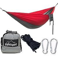 gipfelsport Hängematte - Outdoor Reisehängematte mit Aufhängeset I Travel Hammock für Camping, Garten