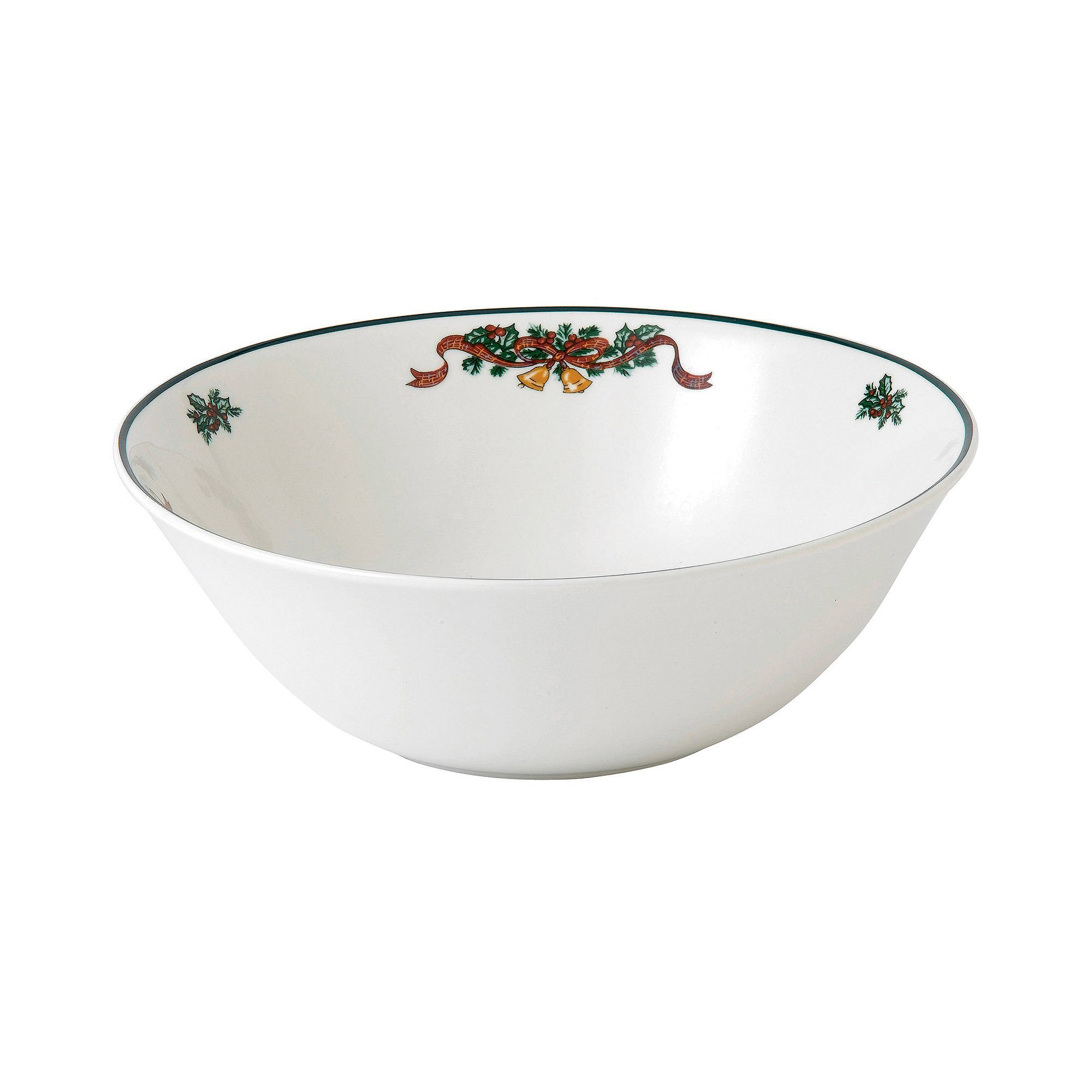 Johnson Brothers Victorian Christmas Open Vegetable Bowl, Multicolored