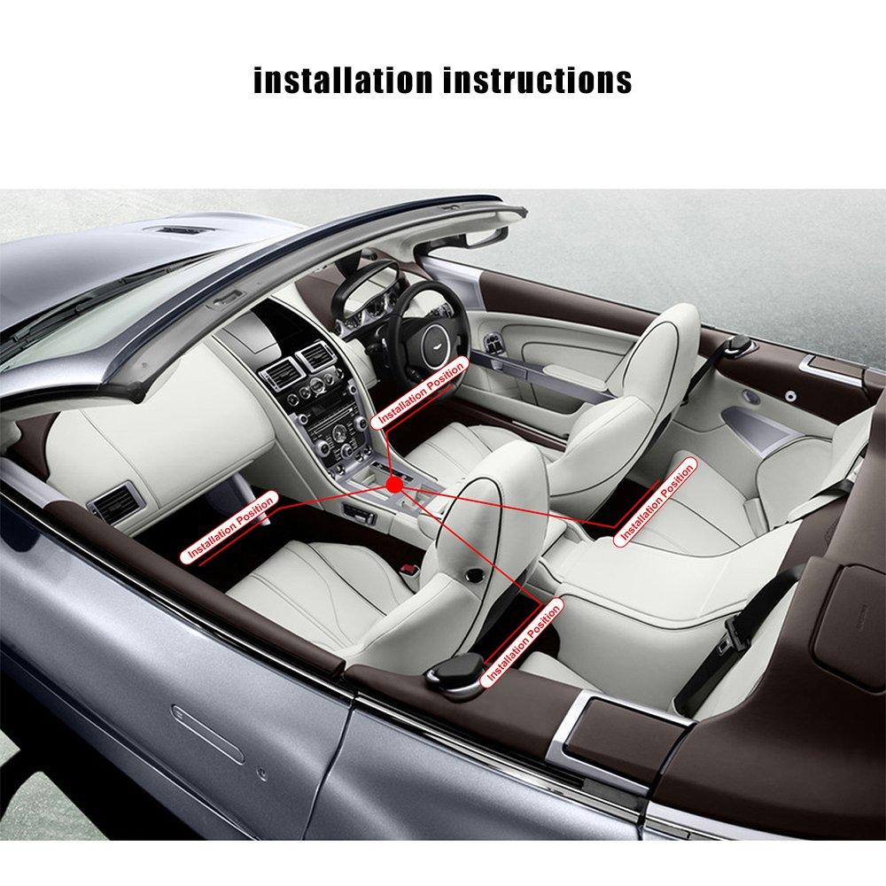 Auto-Streifen Light Car Auto Music Control RGB Strip Licht USB ...