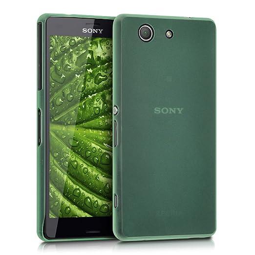 161 opinioni per kwmobile Custodia chic, super sottile per Sony Xperia Z3 Compact colore verde-