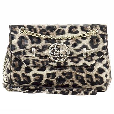 90043bc85b47 GUESS Katlin Convertible Crossbody (Leopard)  Handbags  Amazon.com