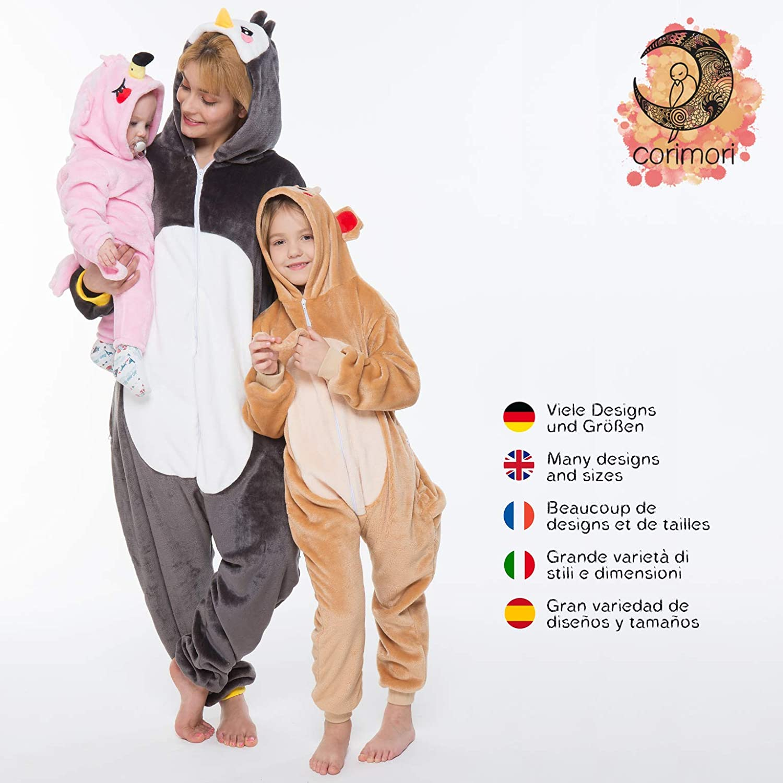Bonnie Le Lapin Plusieurs Mod/èles Combinaison Animal Costume Taille 150-160 cm corimori 1852 Tenue Lounge Grenouill/ère Polaire Hommes Femmes