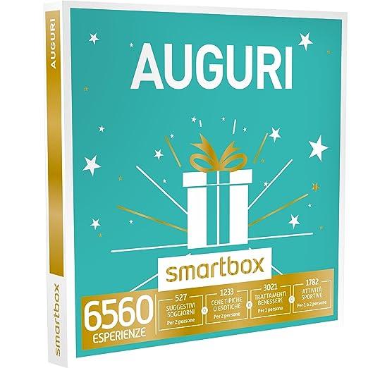 26 opinioni per SMARTBOX- Cofanetto Regalo -AUGURI 1 esperienza a scelta tra soggiorni, gourmet,