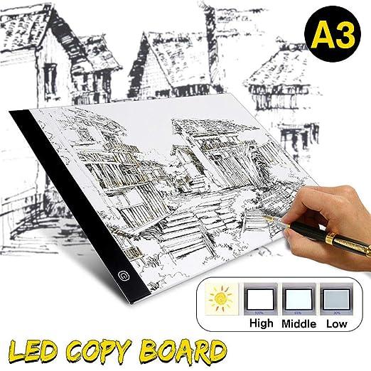 Mesa De Luz Dibujo A3 Led Tablero De Dibujo Tableta Gráfica Led ...