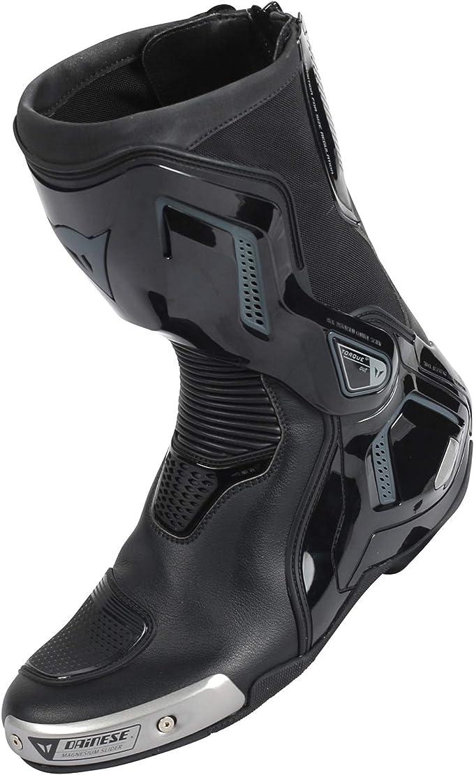 Dainese Torque D1 Out Air Stiefel Schwarz Anthrazit Größe 43 Schuhe Handtaschen